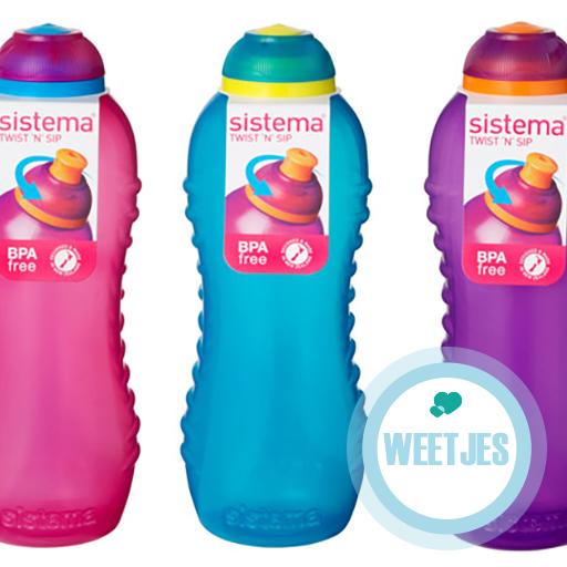 Vader waarschuwt voor bacteriën in herbruikbare flesjes
