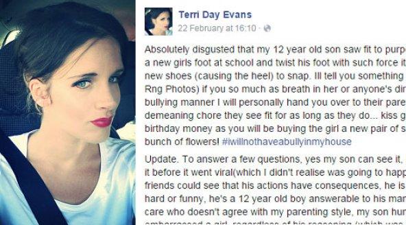 Terri Day Evans op Facebook