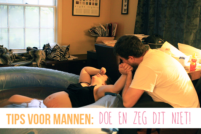 foute acties mannen bevalling
