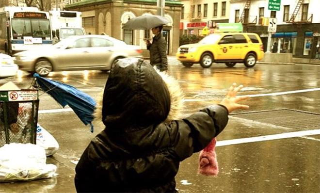 Met kinderen naar New York