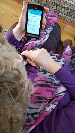 Mobiele telefoon voor ouderen