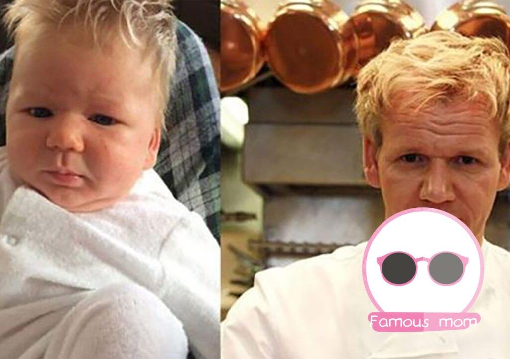 Gordon Ramsay's baby?