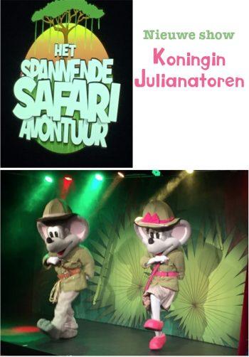 Nieuwe show Koninging Julianatoren