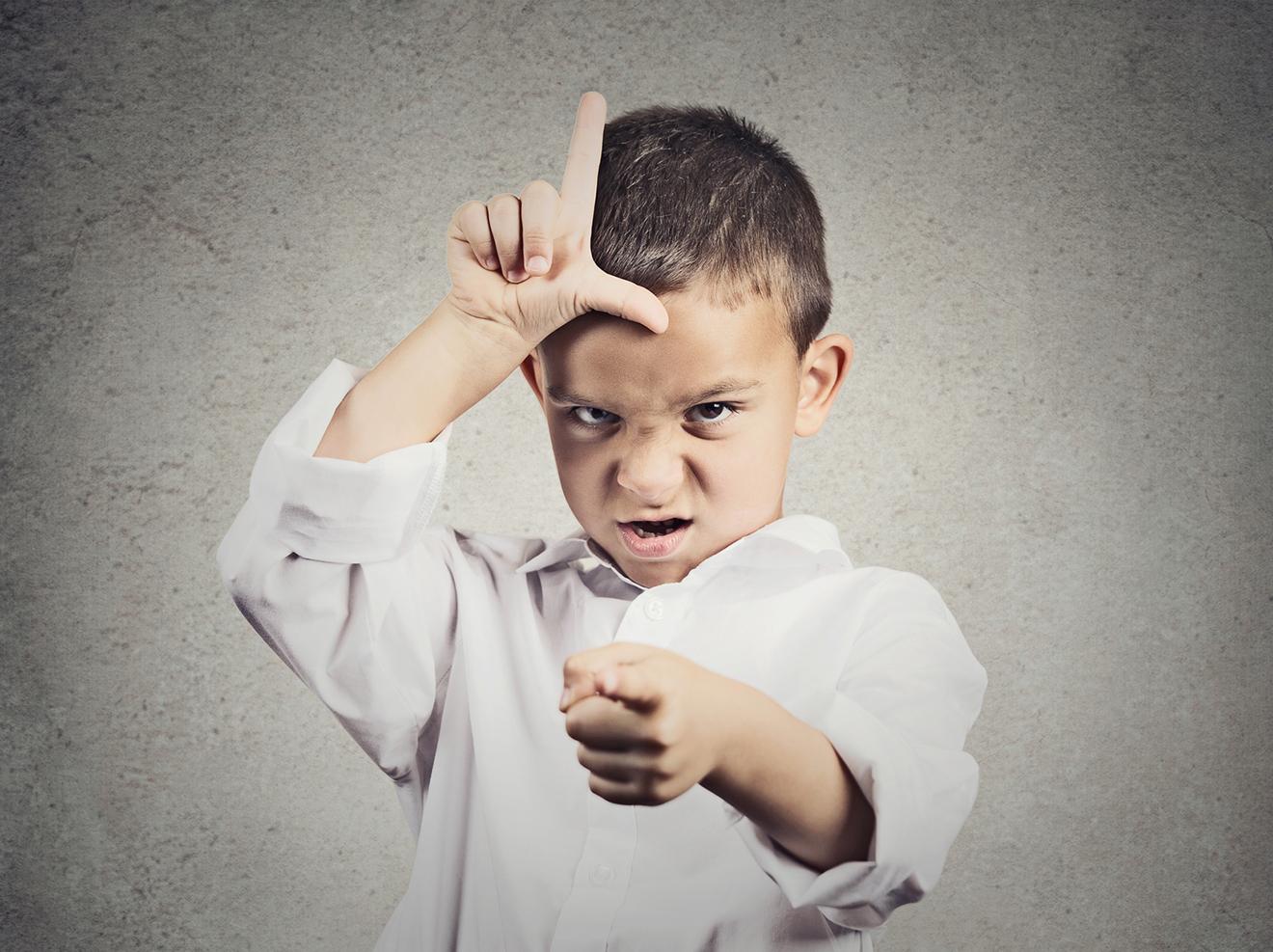 10 situaties waarin kinderen zich misdragen