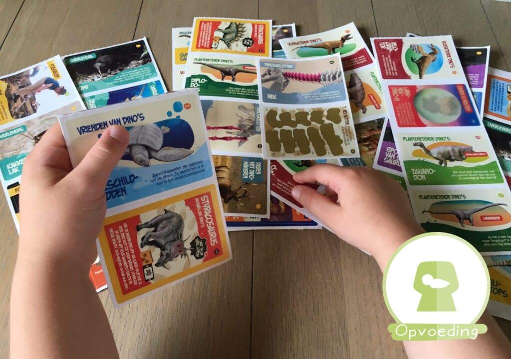 Dinoplaatjes: zullen we onze kinderen weer zelf laten sparen?!
