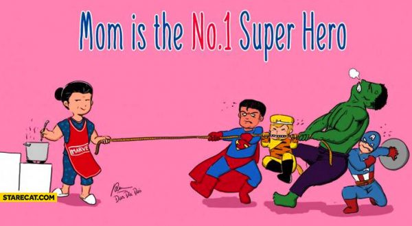 Mama is een superheld
