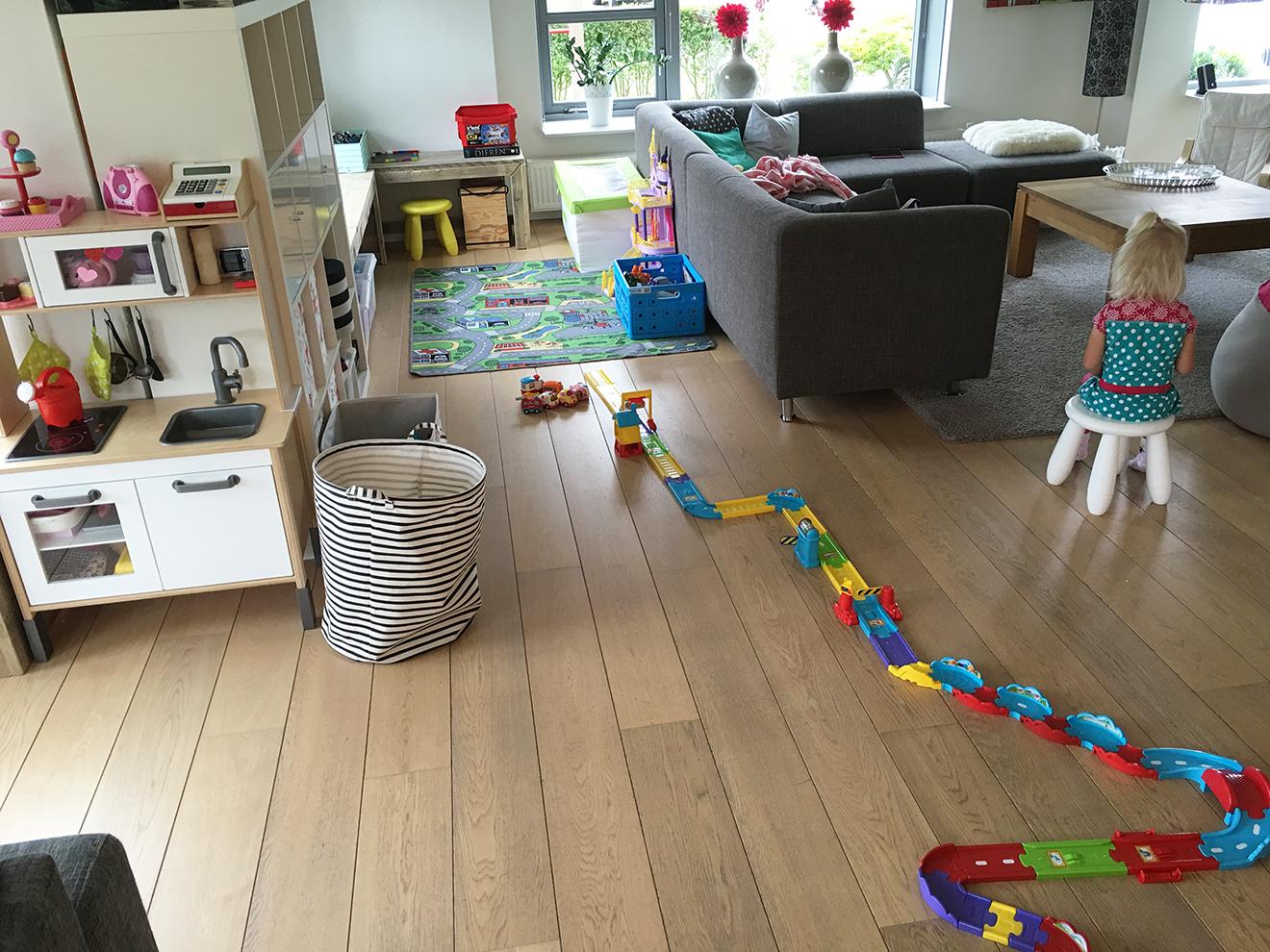 Huis vol speelgoed