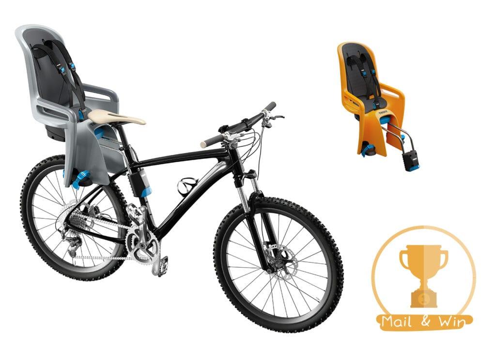 Een slim en veilig kinderzitje voor op de fiets
