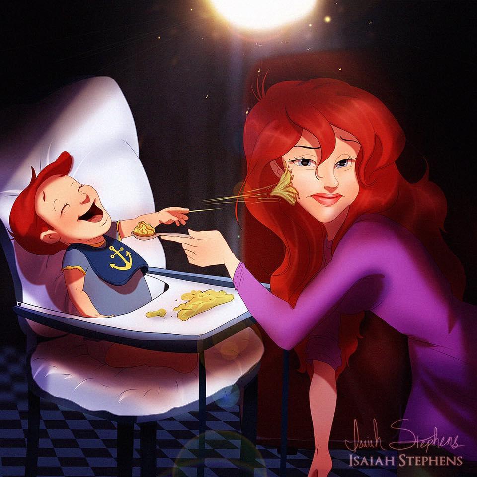 Ariel babyhapje