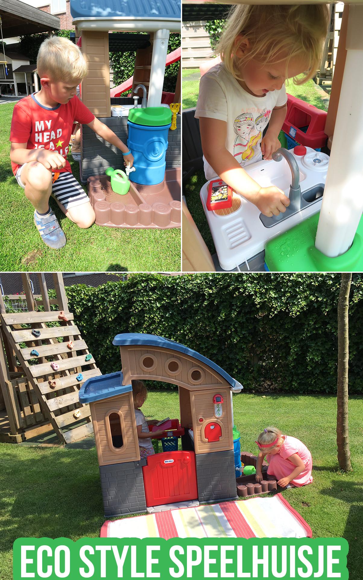 Eco style speelhuisje