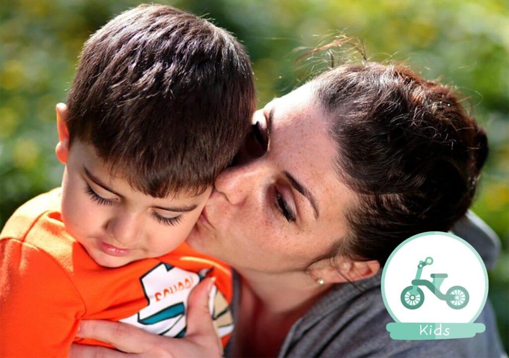 5 manieren waarop ik stiekem knuffel met mijn kind