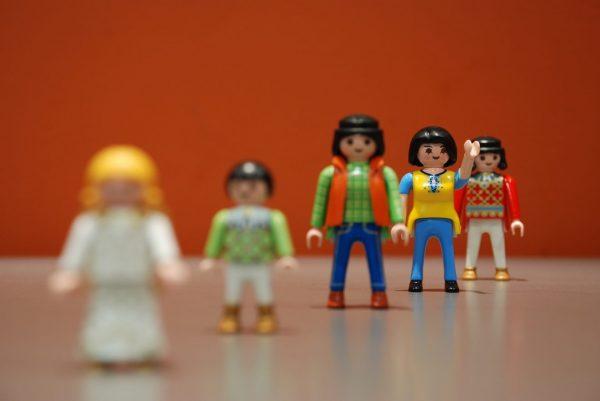 Pleegkinderen en Playmobil
