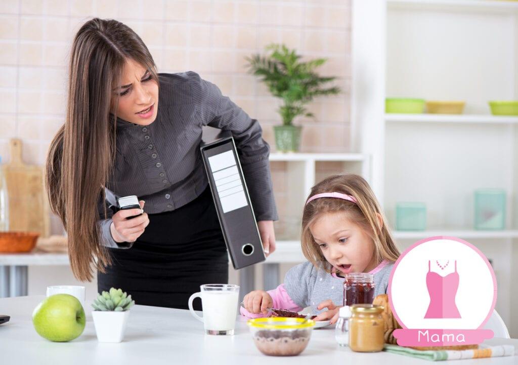 30 dingen die alle moeders doen. Elke dag opnieuw…