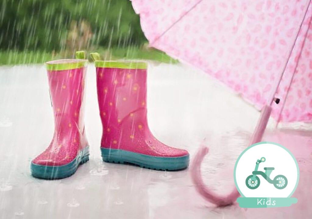 Het regent, het regent en dit is wat we doen!