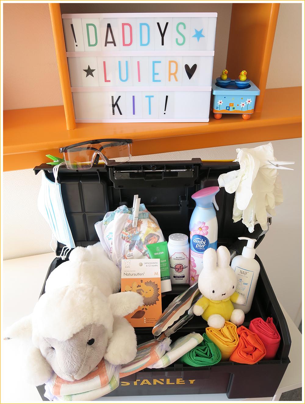 DIY Daddy Luier Kit