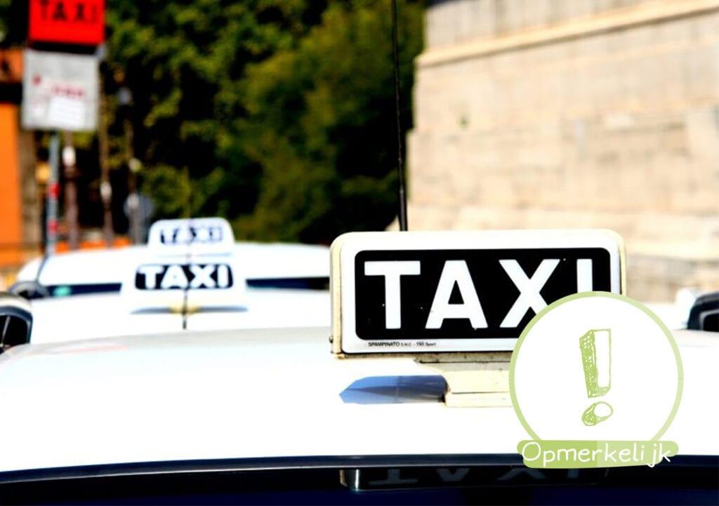 Veilig onderweg met je kind? NIET met de taxi!