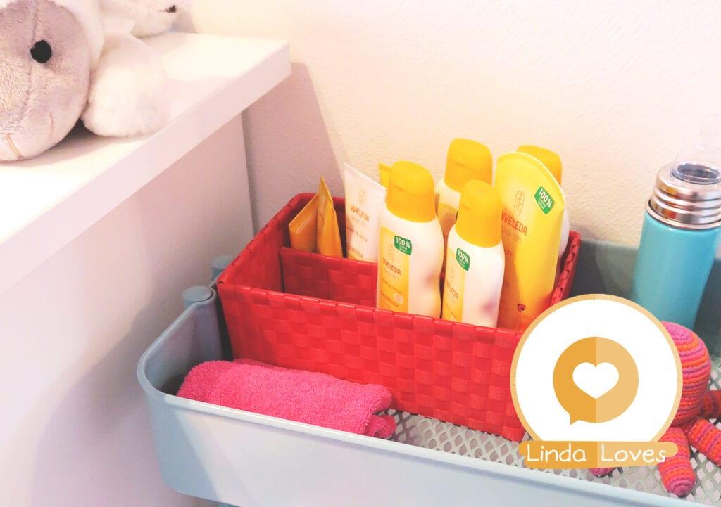 Maak een verzorgingskit voor de dagelijkse verzorging van je baby