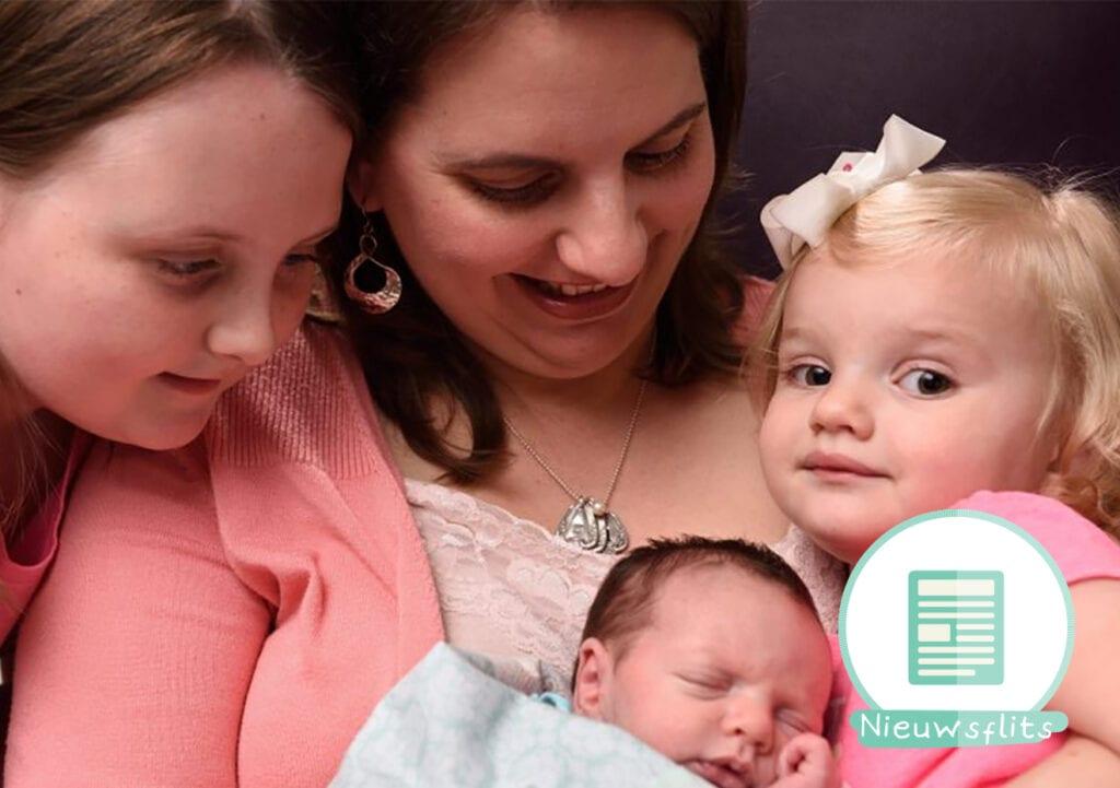 Deze wonderbaby werd 2 keer geboren!