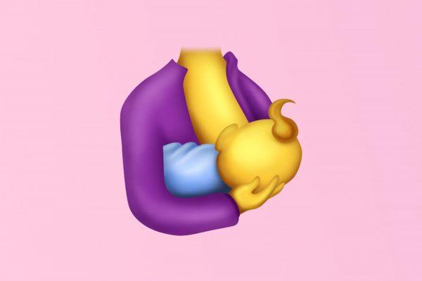 Yes!! Een borstvoeding Emoji!