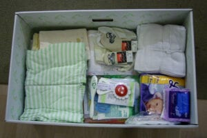 Inhoud Finse babybox