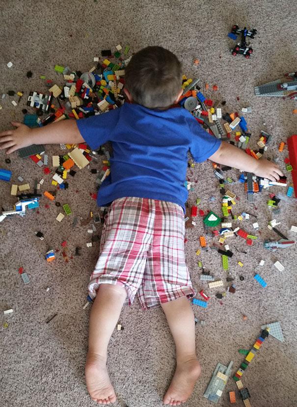 slapen-op-de-lego