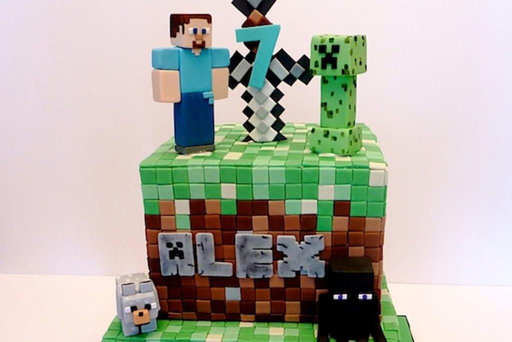 Minecraft taarten top 10 die je kunt 'bouwen' (eh, bakken!)