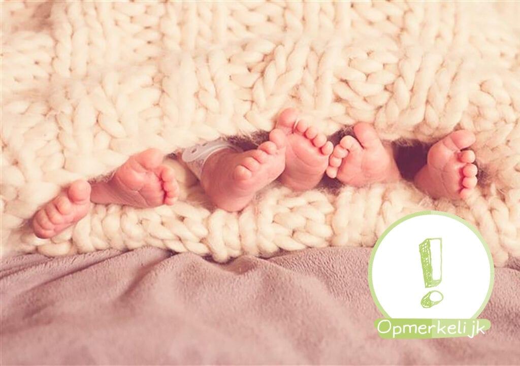 Vrouw krijgt vier kinderen in elf maanden!