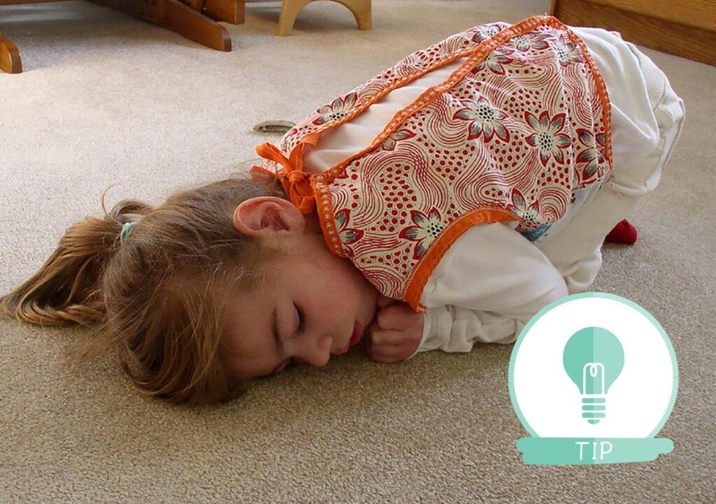 Deze oefeningen kunnen helpen bij het naar bed gaan van je kinderen