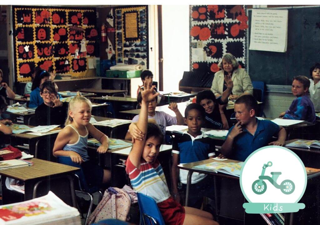 Gaat de opgestoken vinger verdwijnen uit de klas?