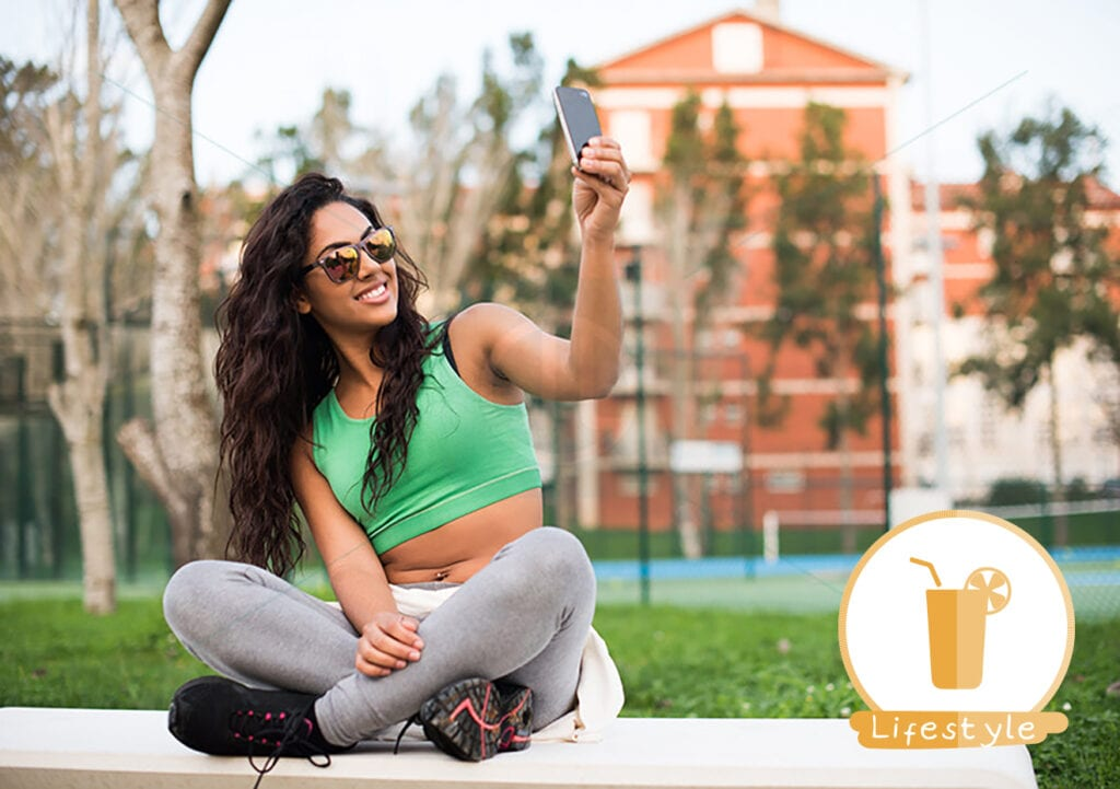 A selfie a day…jaagt de kilo's weg!