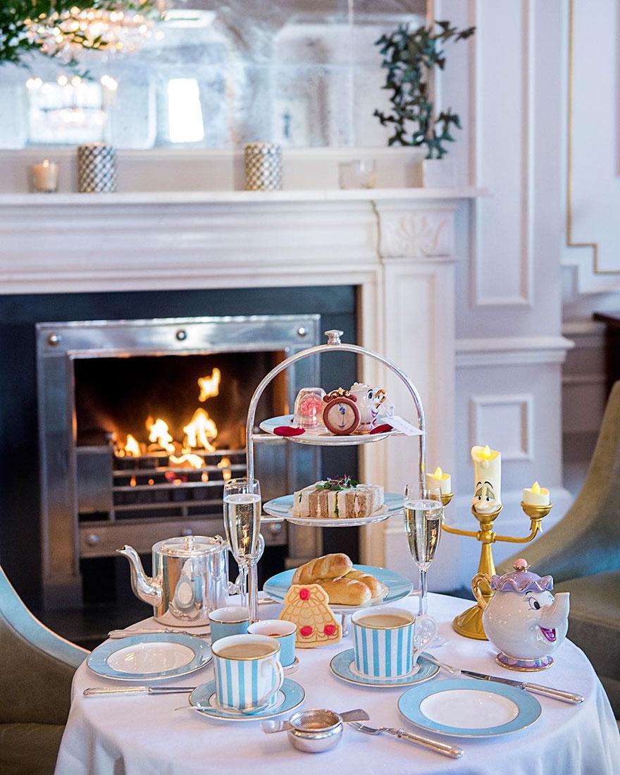 Beauty And The Beast High Tea Kensington Hotel
