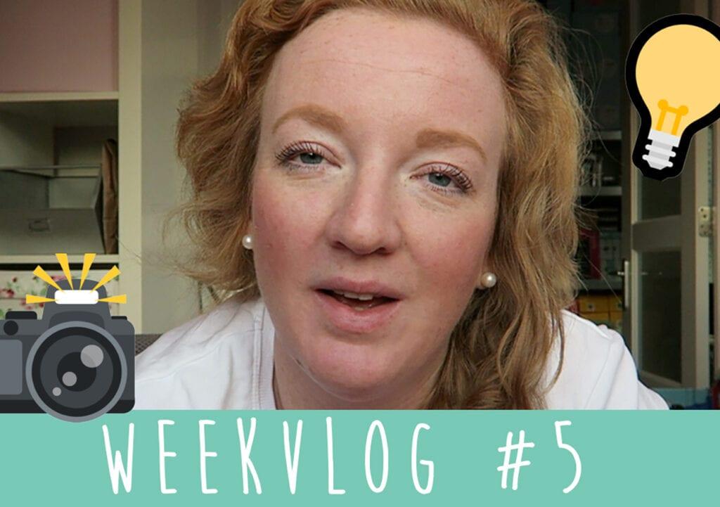 Weekvlog #5 Prioriteiten stellen, plannen én een AANKONDIGING!