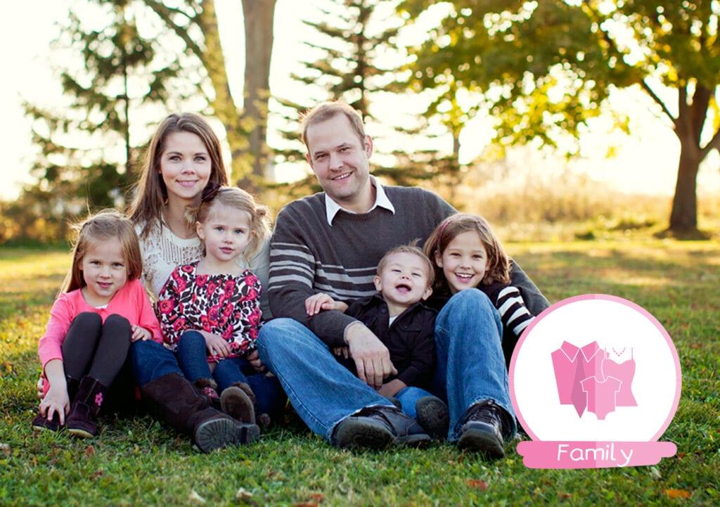 Ouders met vier of meer kinderen zijn het gelukkigst!