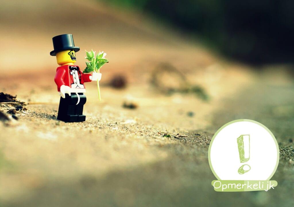 Maak rouw bespreekbaar door middel van Lego