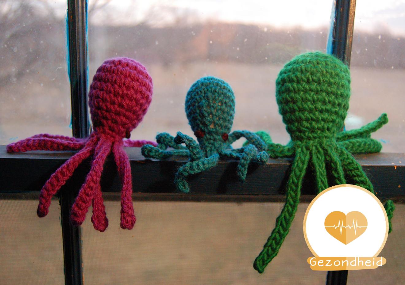 Gehaakte Octopus Helpt Premature Babys Love2bemama