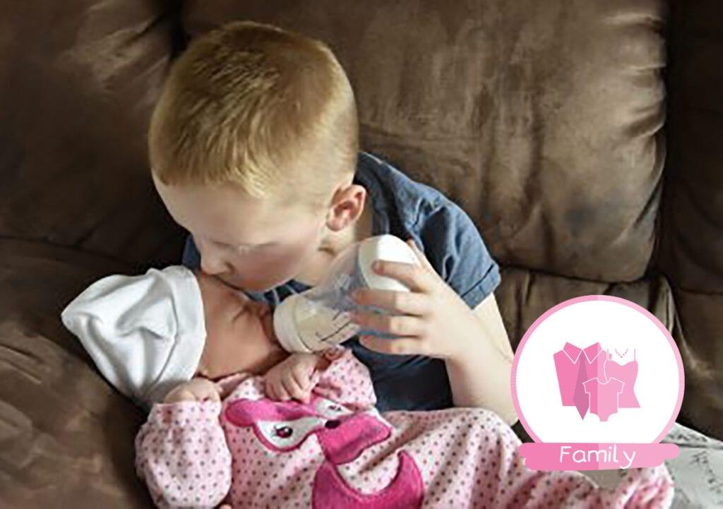 Wat je moet weten als je zoon een klein zusje krijgt