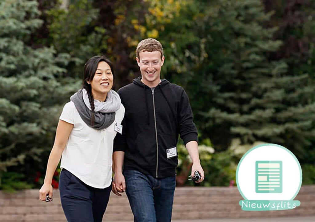 Tweede kindje op komst bij Facebookbaas Mark Zuckerberg