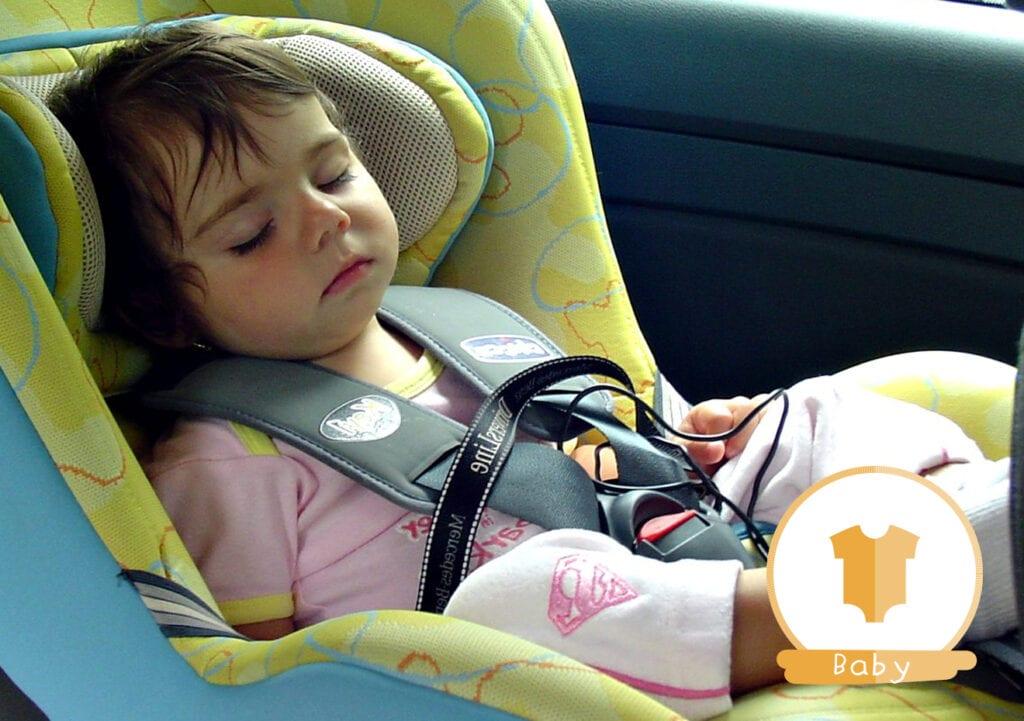 Nog een keer: Laat je kind NOOIT achter in een hete auto!