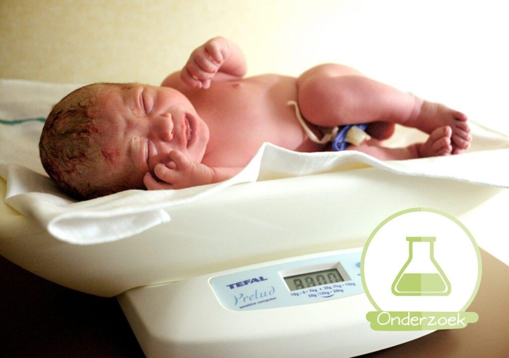 Te zwaar of te licht bij geboorte? Grotere kans op ouderdomsziekten