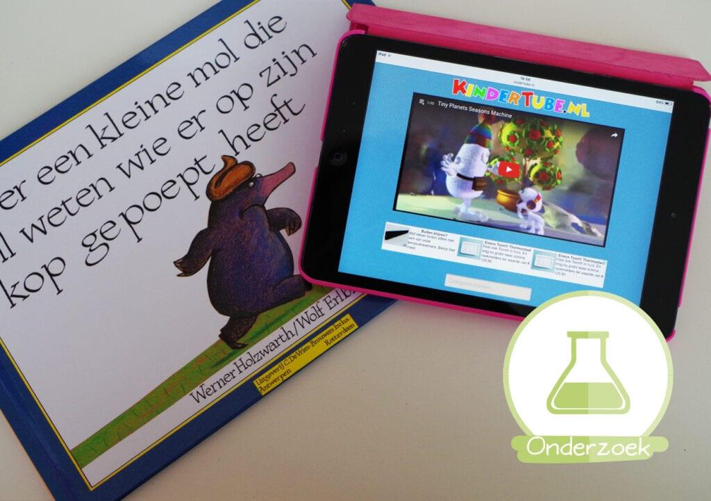 Hèt antwoord: is een verhaal voorlezen beter dan filmpje op tablet?