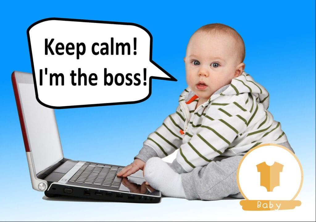 Help! Mijn baby is de baas in huis!