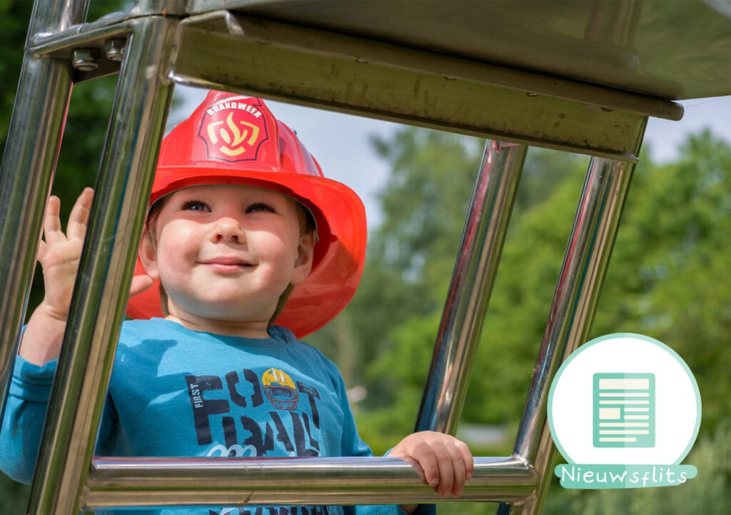 Alfie is de held van de buurt dankzij Brandweerman Sam!
