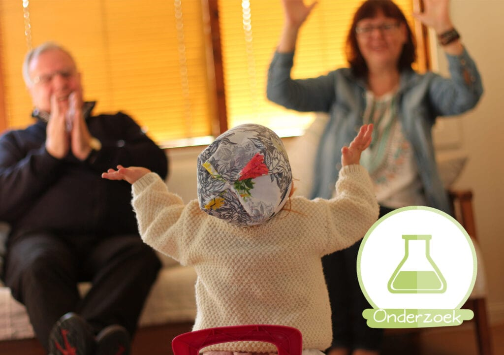 Opa's en oma's die op kinderen passen leven langer