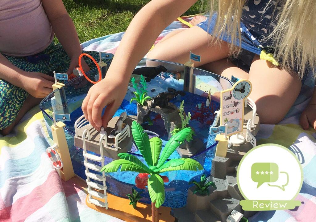 Heerlijk spelen met het nieuwe Playmobil Aquarium