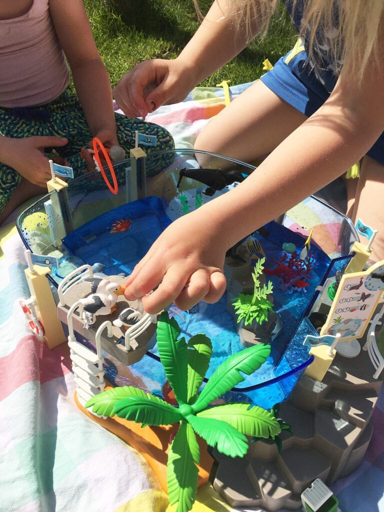 review Playmobil Aquarium