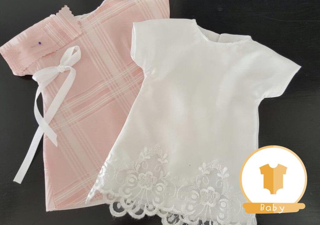 Doneer je trouwjurk voor kleertjes voor overleden baby'tjes
