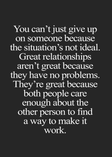Waarom een relatie hard werken is