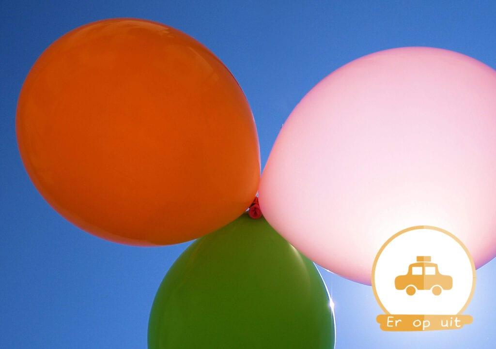 Elke ouder moet een ballon meenemen op reis