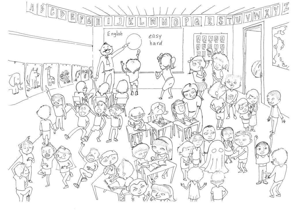 school klas klaslokaal