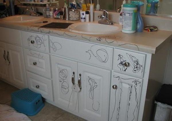 keuken stift kinderen